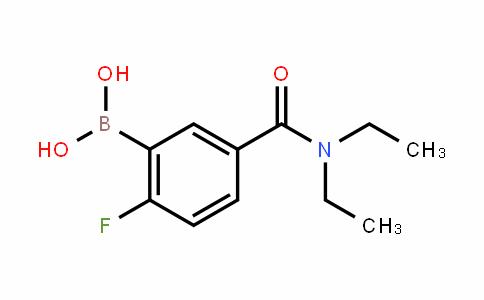 874289-47-1 | 5-(Diethylcarbamoyl)-2-fluorobenzeneboronic acid
