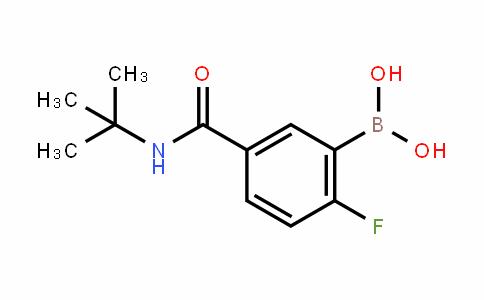 874289-51-7 | 5-(tert-Butylcarbamoyl)-2-fluorobenzeneboronic acid