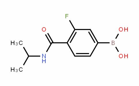 874289-16-4 | 3-Fluoro-4-(isopropylcarbamoyl)benzeneboronic acid