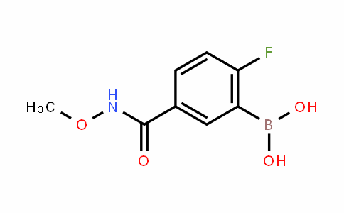 874289-58-4 | 2-Fluoro-5-(methoxycarbamoyl)benzeneboronic acid
