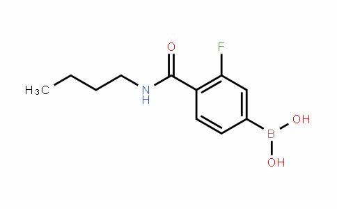 874289-17-5 | 4-(Butylcarbamoyl)-3-fluorobenzeneboronic acid