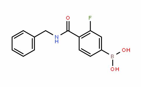 874289-19-7 | 4-(Benzylcarbamoyl)-3-fluorobenzeneboronic acid