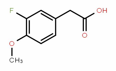 452-14-2 | 3-Fluoro-4-methoxyphenylacetic acid