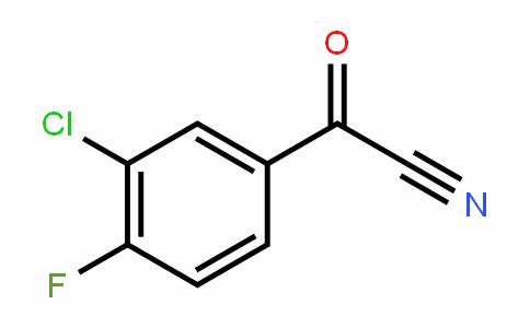 80277-45-8 | (3-Chloro-4-fluorophenyl)(oxo)acetonitrile