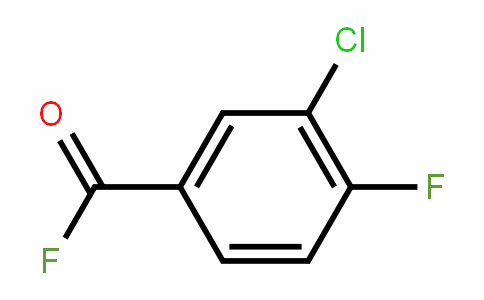 80277-51-6 | 3-Chloro-4-fluorobenzoyl fluoride