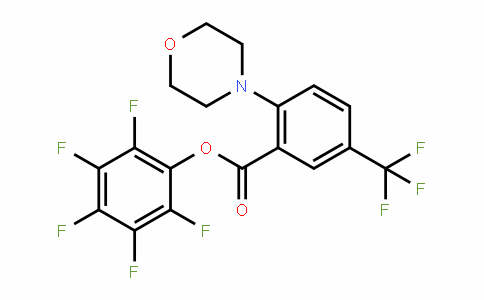 898289-52-6 | Perfluorophenyl 2-(morpholin-4-yl)-5-(trifluoromethyl)benzoate