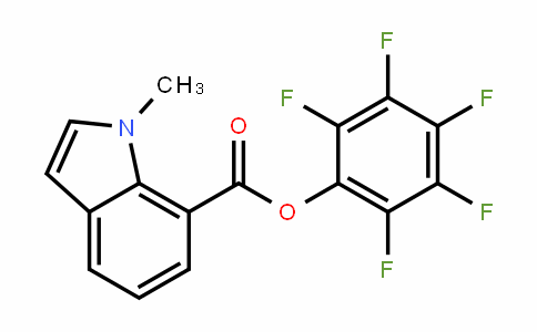 941716-96-7 | Pentafluorophenyl 1-methyl-1H-indole-7-carboxylate