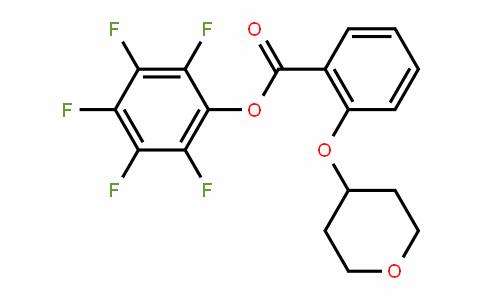 926921-58-6 | Pentafluorophenyl 2-(tetrahydro-2H-pyran-4-yloxy)benzoate