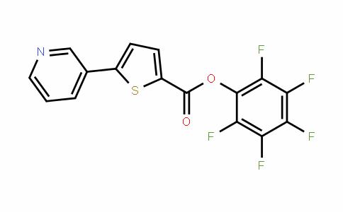 941716-94-5 | Pentafluorophenyl 5-pyridin-3-ylthiophene-2-carboxylate