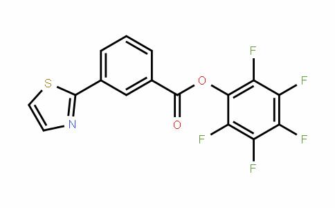 926921-55-3 | Pentafluorophenyl 3-(1,3-thiazol-2-yl)benzoate