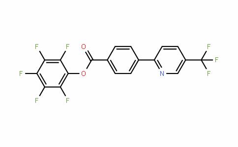 910036-89-4   Pentafluorophenyl 4-[5-(trifluoromethyl)pyridin-2-yl]benzoate