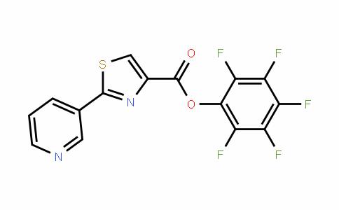 906352-58-7 | Pentafluorophenyl 2-pyridin-3-yl-1,3-thiazole-4-carboxylate