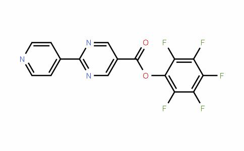 946409-27-4 | Pentafluorophenyl 2-pyridin-4-ylpyrimidine-5-carboxylate