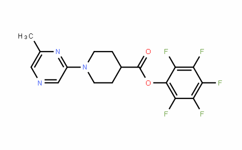 898289-56-0 | Pentafluorophenyl 1-(6-methylpyrazin-2-yl)piperidine-4-carboxylate