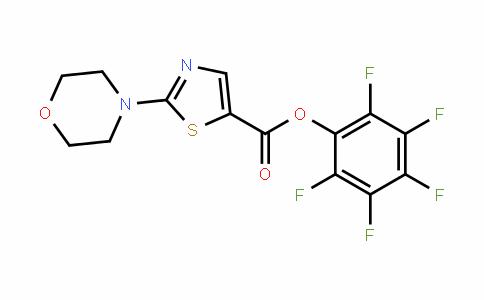 941716-88-7 | Pentafluorophenyl 2-morpholin-4-yl-1,3-thiazole-5-carboxylate