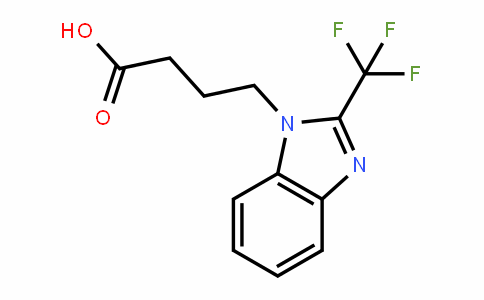 876728-42-6 | 4-[2-(Trifluoromethyl)-1H-benzimidazol-1-yl]butanoic acid