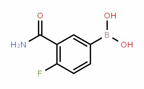 874219-34-8 | 3-Carbamoyl-4-fluorobenzeneboronic acid