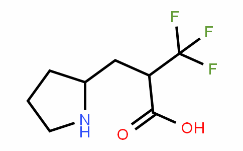 480438-82-2 | 3,3,3-Trifluoro-2-(pyrrolidin-2-ylmethyl)propanoic acid