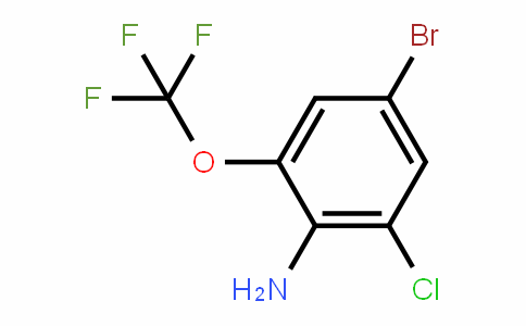 885266-98-8 | 4-Bromo-2-chloro-6-(trifluoromethoxy)aniline