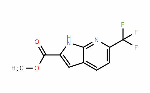 952182-20-6 | Methyl 6-(trifluoromethyl)-7-azaindole-2-carboxylate