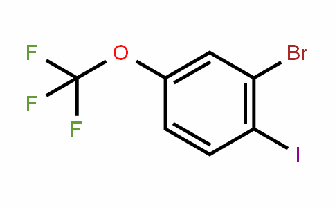 883546-30-3 | 2-Bromo-1-iodo-4-(trifluoromethoxy)benzene
