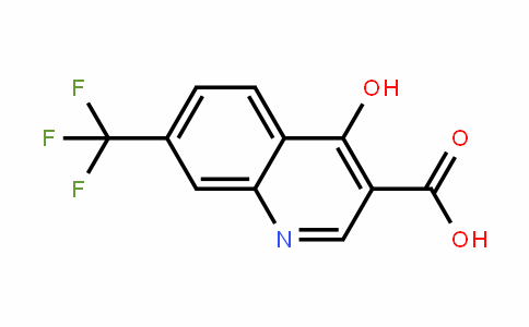 574-92-5 | 4-Hydroxy-7-(trifluoromethyl)quinoline-3-carboxylic acid