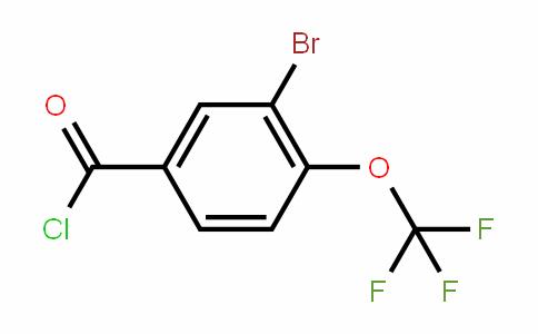 85366-63-8 | 3-Bromo-4-(trifluoromethoxy)benzoyl chloride