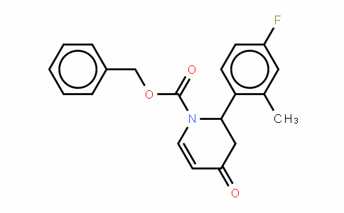 414909-98-1   2,3-Dihydro-2-(4-fluoro-2-methylphenyl)pyridin-4(1H)-one, N-CBZ protected
