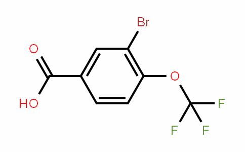 85373-96-2 | 3-Bromo-4-(trifluoromethoxy)benzoic acid