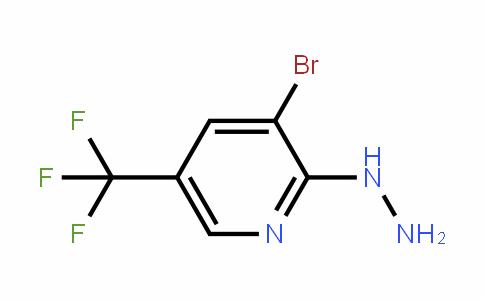 89570-86-5 | 3-Bromo-2-hydrazino-5-(trifluoromethyl)pyridine