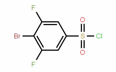 518057-63-1 | 4-Bromo-3,5-difluorobenzenesulphonyl chloride