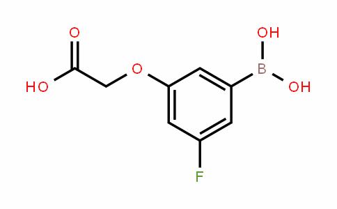 913835-56-0 | 3-(Carboxymethoxy)-5-fluorobenzeneboronic acid