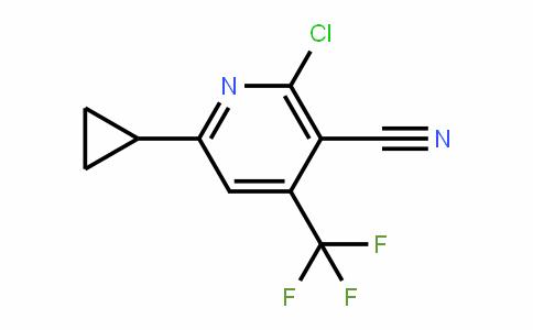 478049-48-8 | 2-Chloro-6-cyclopropyl-4-(trifluoromethyl)nicotinonitrile