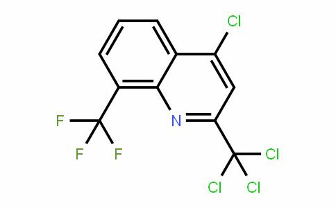 91991-76-3 | 4-Chloro-2-(trichloromethyl)-8-(trifluoromethyl)quinoline