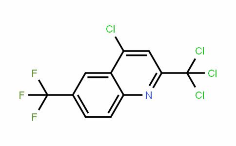 91991-82-1 | 4-Chloro-2-(trichloromethyl)-6-(trifluoromethyl)quinoline
