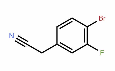 499983-13-0   4-溴-3-氟苯乙腈