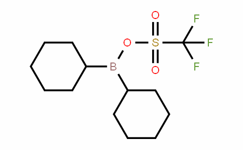 145412-54-0 | Dicyclohexyl{[(trifluoromethyl)sulphonyl]oxy}borane