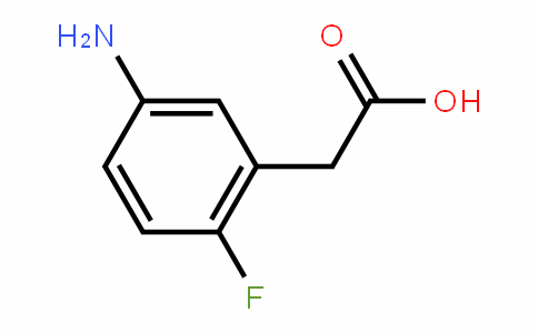 518057-74-4 | 5-Amino-2-fluorophenylacetic acid