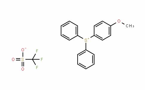 116808-67-4 | Diphenyl(4-methoxyphenyl)sulphonium triflate