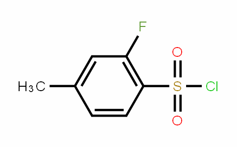 518070-29-6 | 2-Fluoro-4-methylbenzenesulphonyl chloride