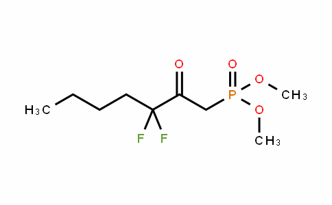 50889-46-8 | Dimethyl (3,3-difluoro-2-oxohept-1-yl)phosphonate