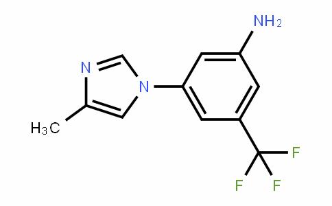 641571-11-1 | 3-Amino-5-(4-methyl-1H-imidazol-1-yl)benzotrifluoride