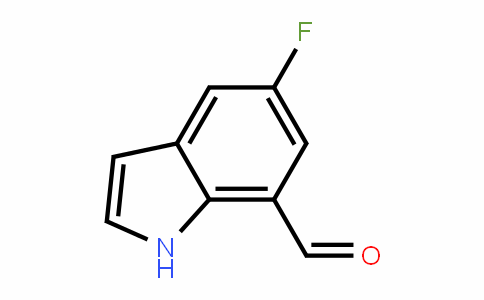 603306-52-1 | 5-Fluoro-1H-indole-7-carboxaldehyde