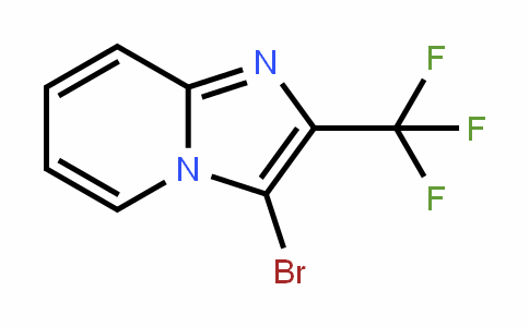 503172-42-7 | 3-Bromo-2-(trifluoromethyl)imidazo[1,2-a]pyridine