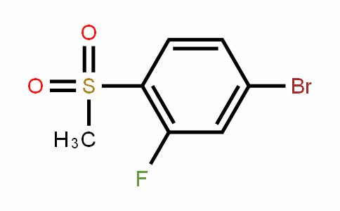 648904-84-1 | 4-Bromo-2-fluorophenyl methyl sulphone