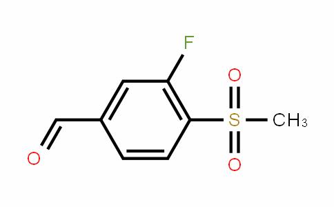 254878-95-0   3-Fluoro-4-(methylsulphonyl)benzaldehyde