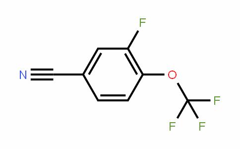 886498-94-8 | 3-Fluoro-4-(trifluoromethoxy)benzonitrile