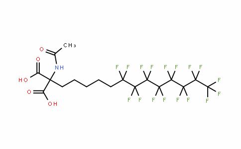 885276-27-7   2-Acetamido-2-[5-(perfluorooct-1-yl)pent-1-yl]malonic acid