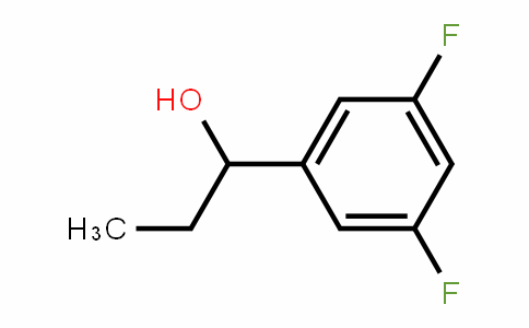575433-45-3 | 3,5-Difluoro-alpha-ethylbenzyl alcohol