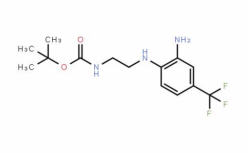 215655-42-8 | tert-Butyl N-{2-[2-amino-4-(trifluoromethyl)anilino]ethyl}carbamate